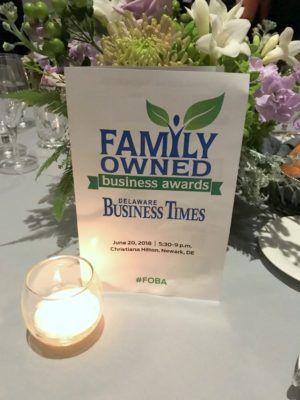 2018 Family Owned Business Awards